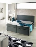 Boxspring-Bett «Grey»