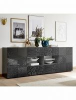 Sideboard «Emy» 2P4T, gris