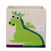 3 Sprouts Spielzeugbox Drache